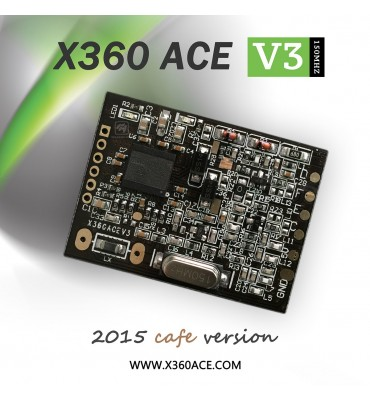 Glitcher X360 ACE v3 CAFE z oscylatorem 150 Mhz