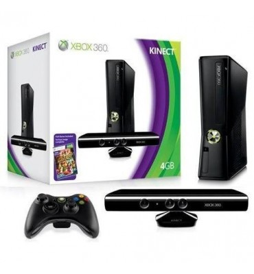 Xbox 360 SLIM 4GB + Kinect + Adventures