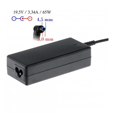 Zasilacz AK-ND-25 19.5V/3.33A 65W 4.5*3.0 + pin