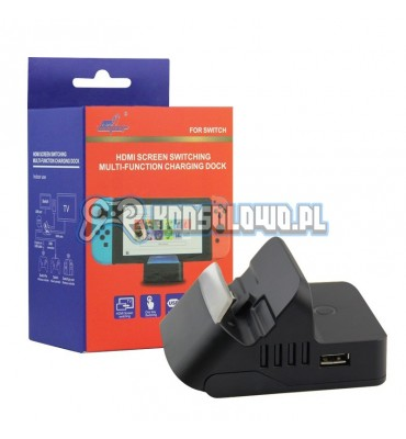 Charging Dock Station Mini Portable Charger for Nintendo Switch