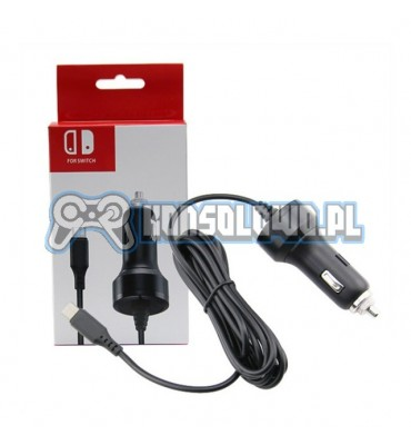 Car charger adapter for Nintendo Switch and Lite