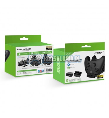 Dual charging station Dobe for Xbox Series S X One with 2 aku