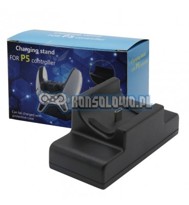 Single charge station for PS5 Dualsense controller