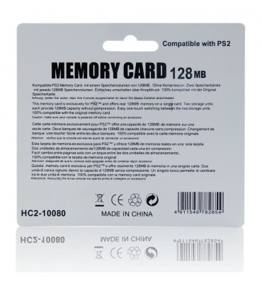 Memory Card 128MB for Sony Playstation PS2