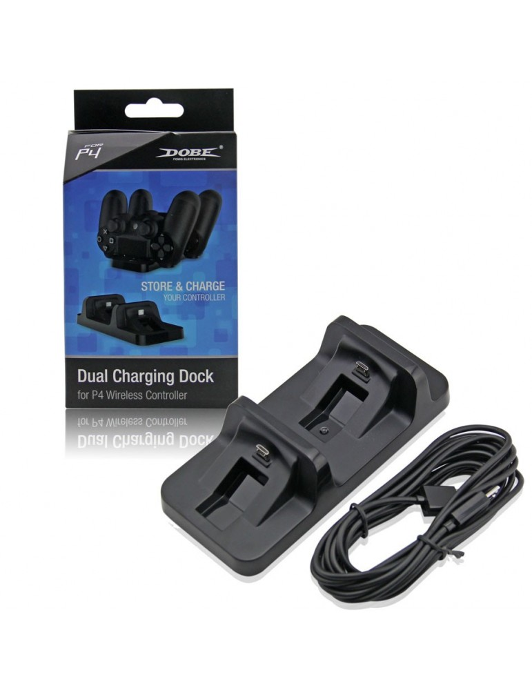 Dual controller DOBE charging stand for PS4 Dualshock 4 Controller