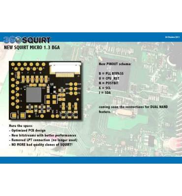 Squirt 360 BGA 1.3 Micro