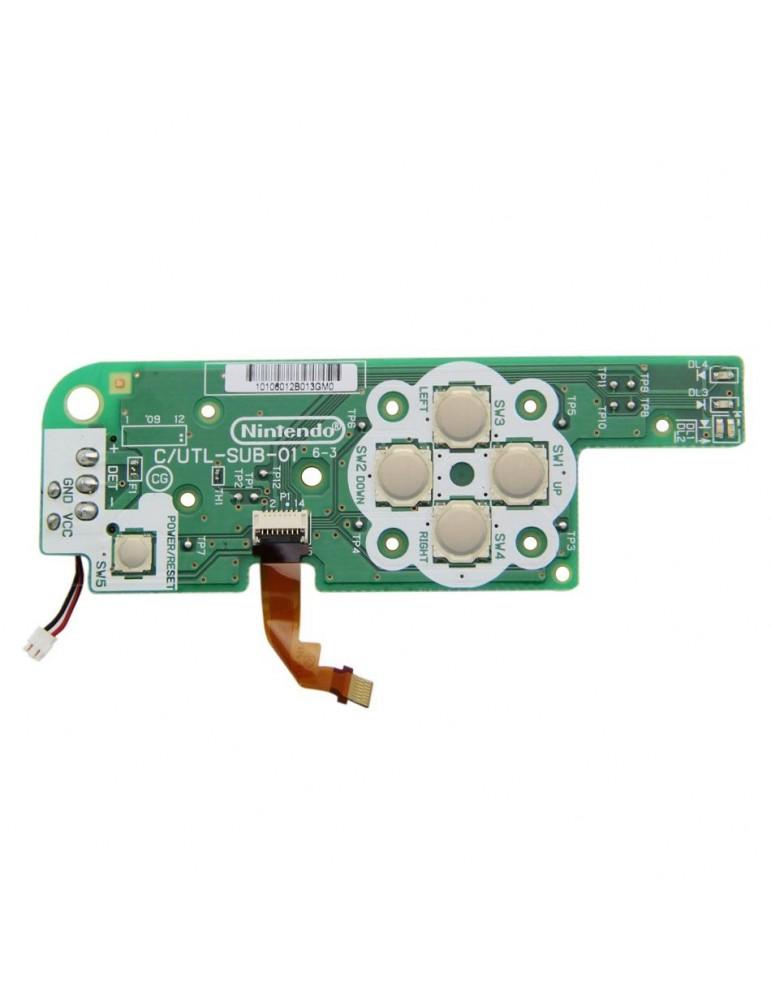 Switch board C/UTL-SUB-01 D-PAD Nintendo DSi XL on