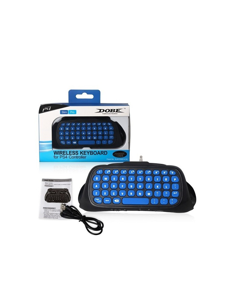 Wireless keyboard for PS4 Pro/Slim controller