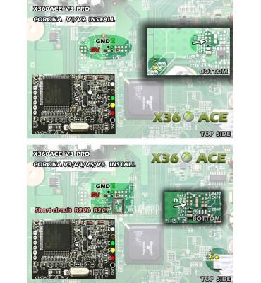 X360 ACE V3 PRO Glitcher Board RGH Corona Trinity