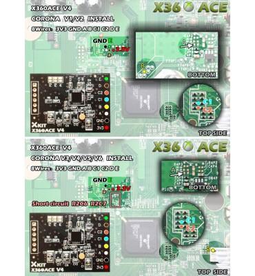 X360 ACE V4 Glitcher Board RGH Corona Trinity