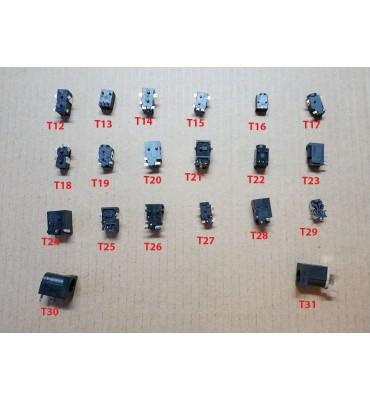 Charging socket for tablet 2.5/0.7 T16