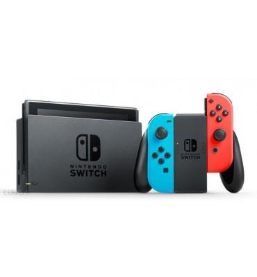 Konsola Nintendo Switch Joy-Con Niebiesko Czerwony