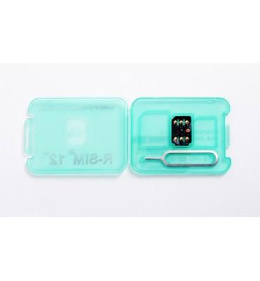 R-SIM 12 plus unlock iPhone 6 7 8 8P X XS XR