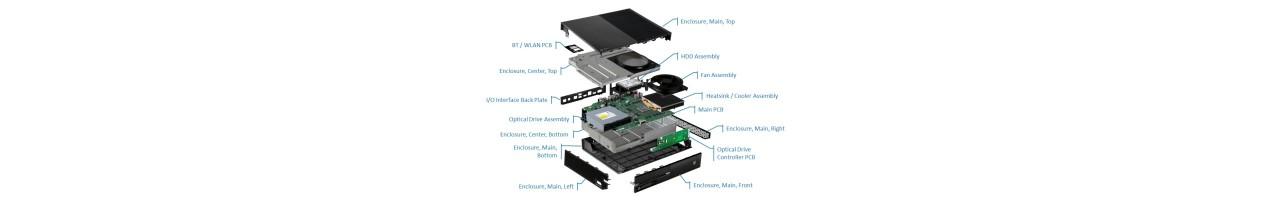 Części naprawcze Xbox 360