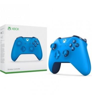 Bezprzewodowy niebieski kontroler Microsoft Xbox One
