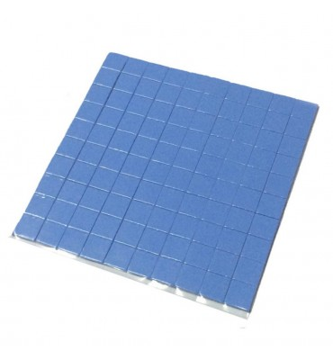 Termopad thermopad 100 sztuk 10x10x1mm 3.2WmK